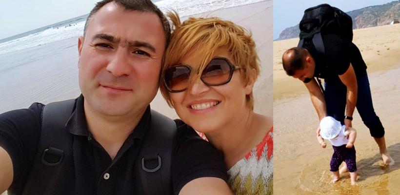 Oxana Iuteș, pe litoralul Atlanticului, alături de soț și fiică! Ce destinație de călătorie au ales