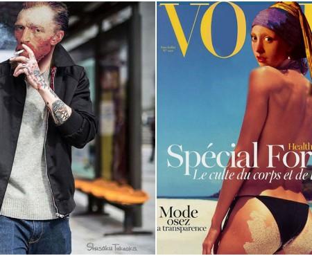 Cum ar arăta Mona Lisa sau Van Gogh dacă ar trăi în zilele noastre și ar fi hipsteri? Vezi imagini