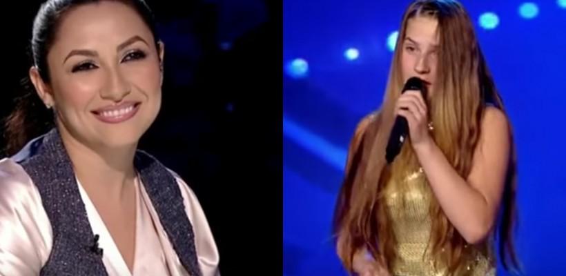 """O adolescentă de 15 ani a uimit juriul """"Românii au talent"""" prin vocea sa deosebită! Andra: """"Ne-a amintit de Patricia Kaas"""""""