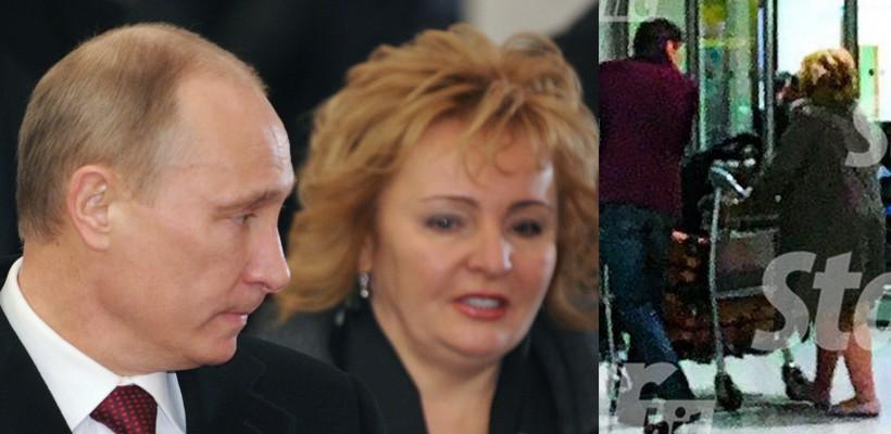 Fosta soție a președintelui Putin, surprinsă alături de un businessman mai tânăr cu 20 de ani (FOTO)