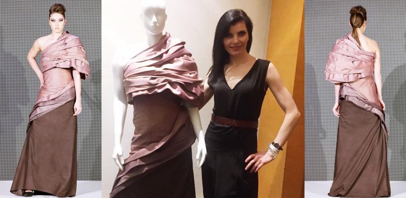 Creația vestimentară a unei moldovence poate obține victorie la o competiție canadiană. DETALII