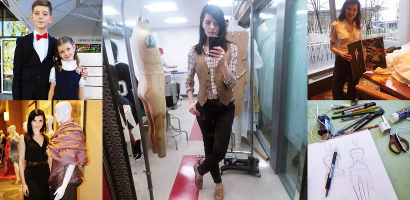 O moldoveanca plecată la studii în Canada își dezvăluie sacrificiile făcute de dragul unei cariere în Fashion Design