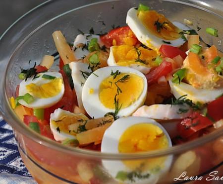 5 rețete care conțin ouă fierte sau ce facem cu ouăle încondeiate, rămase de la Paște