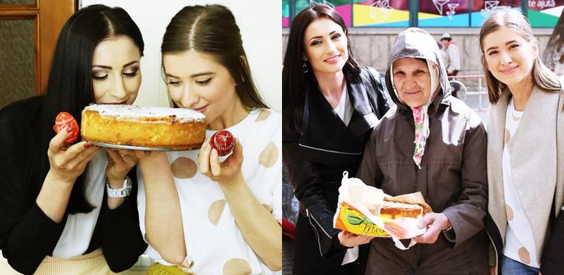 Stela Popa & autoarea Valerie's Food au pregătit o pască fără aluat și au dăruit-o unei bunicuțe nevoiașe