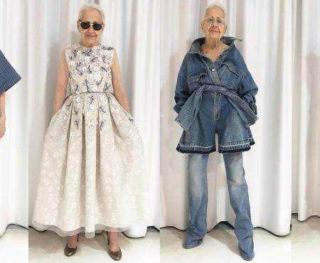 Model la 95 de ani! O bunicuță cucerește Instagram-ul cu pasiunea sa pentru modă (FOTO)