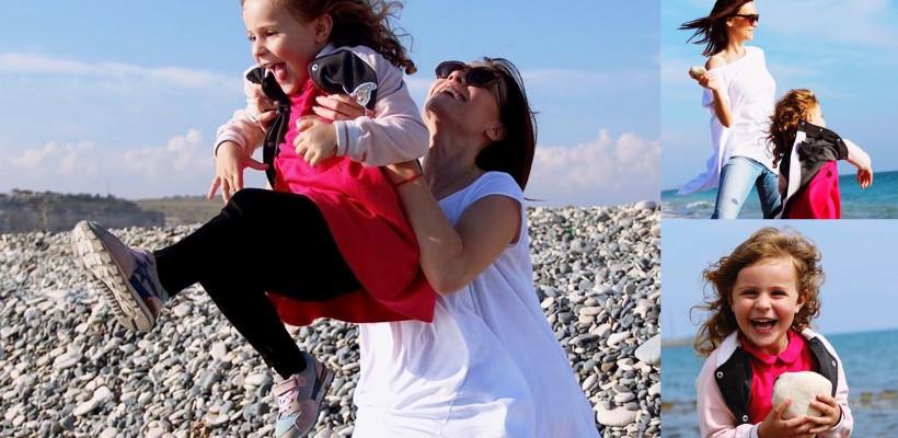 O înghite din priviri! Olia Tira savurează momente prețioase în compania nepoatei, departe de casă (FOTO)