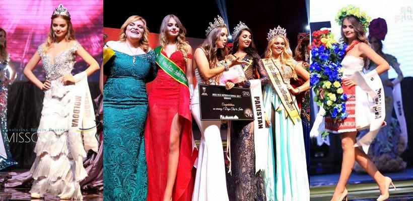 Anastasia Fotachi aduce locul VII de la Miss Eco International! A sclipit în rochii Made in Moldova