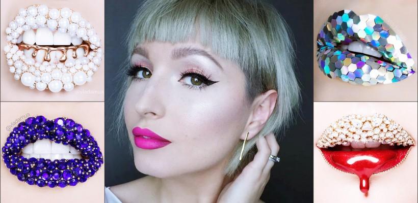 O makeup artistă din Kiev transformă buzele în adevărate bijuterii! E tot mai râvnită de brandurile de cosmetice