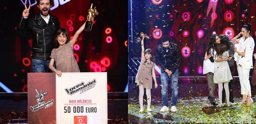 """O fetiță de nouă ani este """"Vocea României Junior""""! Vezi prestațiile micii interprete din finala concursului (VIDEO)"""