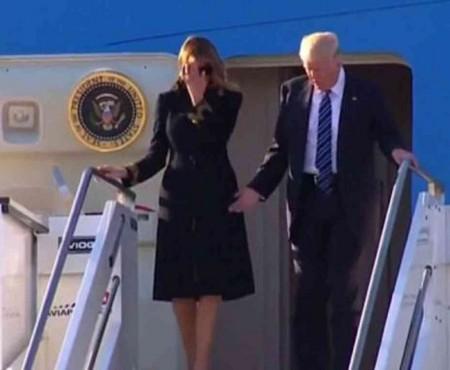 Prima Doamnă a SUA, Melania Trump, nu vrea să-și atingă soțul și gata! Donald, respins și în Italia