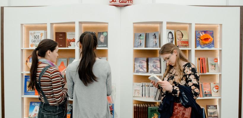 Editura Bestseller participă cu un stand inedit la Salonul Internațional de Carte pentru Copii și Tineret