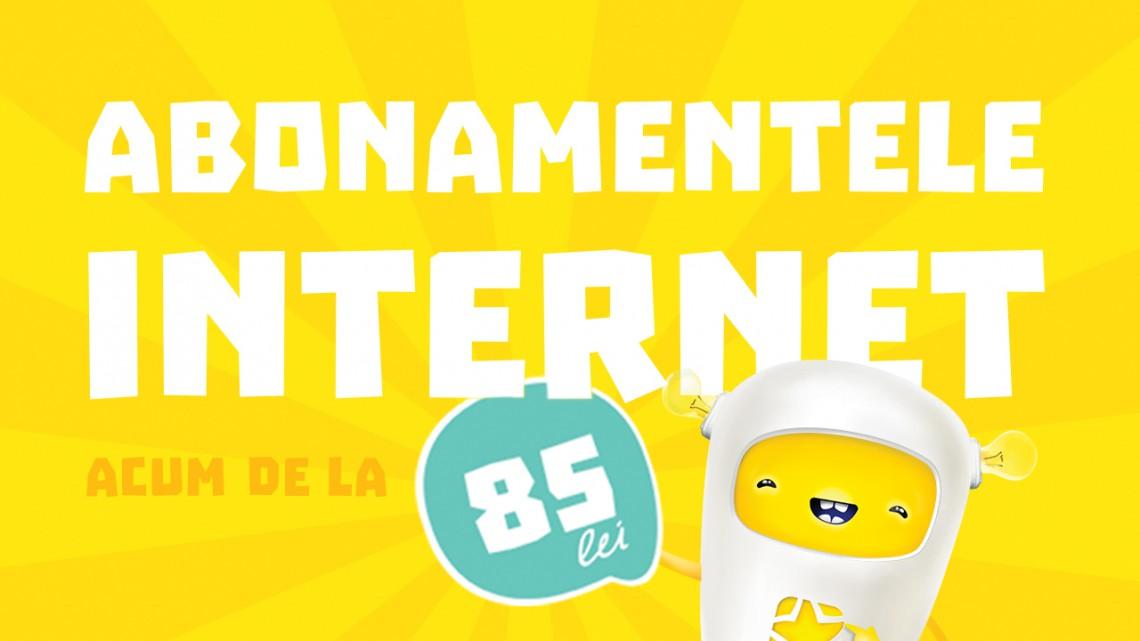 Cu 85 de lei TOT Internetul din lume este al tău!