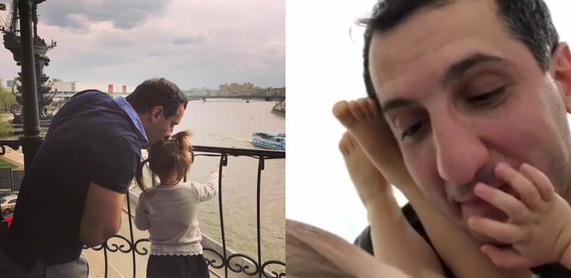 După ce a topit internauții cu filmulețe amuzante în care își filmează fetița, Ararat Keshchyan surprinde cu un nou video adorabil