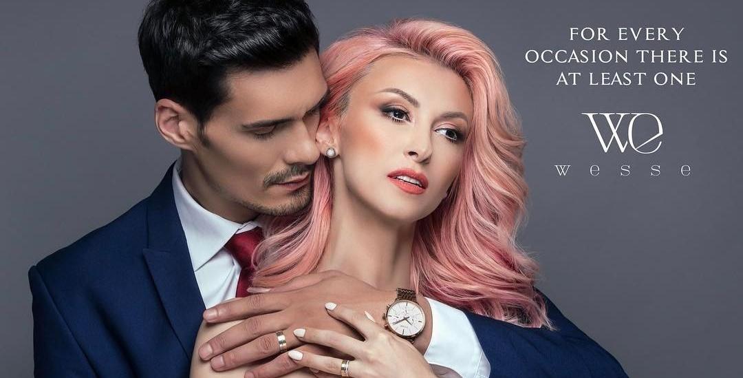 Formula pasiunii! Andreea Bălan și George Burcea pozează într-o reclamă de ceasuri fashion (FOTO)
