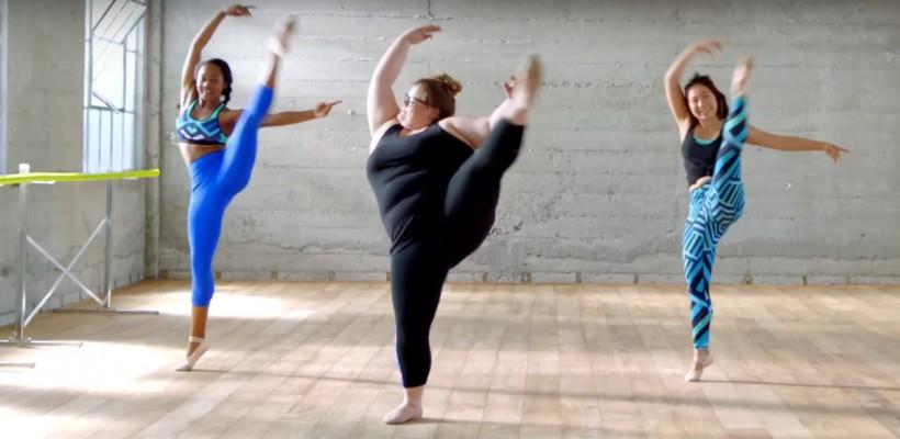 Balerina plus-size, care face revoluție în balet, a devenit eroina unei reclame (VIDEO)