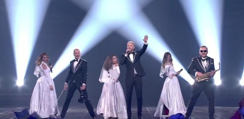 Au stârnit ropote de aplauze! Vezi evoluția SunStroke Project în finala Eurovision 2017
