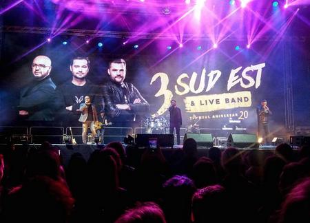 Un nou concert marca 3 Sud Est a avut loc aseară la Chișinău! Sute de oameni au cântat la unison cu îndrăgiții artiști (Foto, Video)