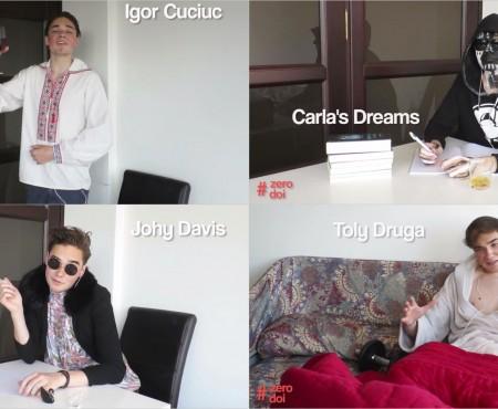 De data asta, în pielea cântăreților! Vloggerul Cătălin Lungu parodiază 4 interpreți autohtoni (VIDEO)