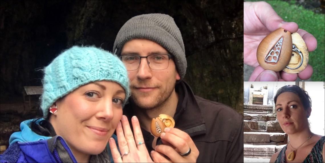 A purtat inelul de logodnă cu ea timp de 1,5 ani, fără să-și dea seama de acest lucru (VIDEO)