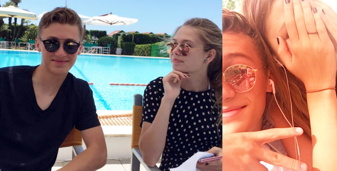 """Fiica de 16 ani a Verei Brejneva se laudă cu un iubit de peste ocean: """"Mă faci incredibil de fericită!"""" (FOTO)"""