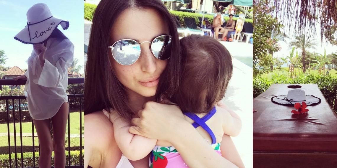 Elena Bivol, într-o destinație tropicală alături de fetița ei! E prima călătorie a Elizei (FOTO)