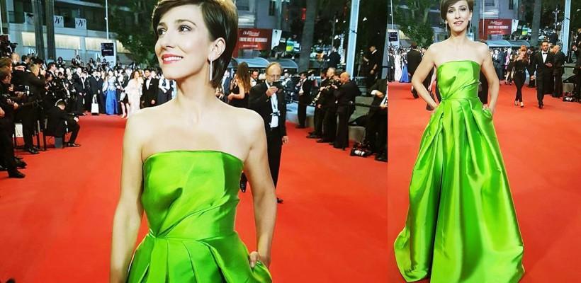 Dana Rogoz a sclipit la Cannes într-o creație a unui designer din Republica Moldova! (FOTO)