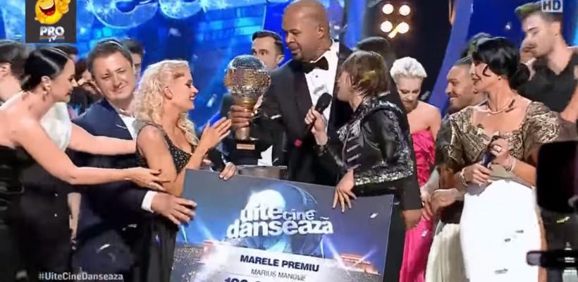 """Olesea Nespeac și Marius Manole au ridicat marele premiu de 100 000 EUR la """"Uite cine dansează"""""""