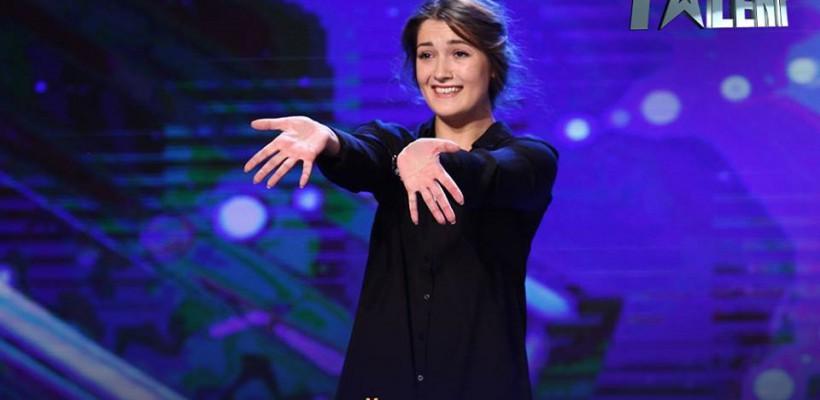 """O dansatoare basarabeancă și-a adus povestea dură a vieții în semifinala """"Românii au Talent""""."""