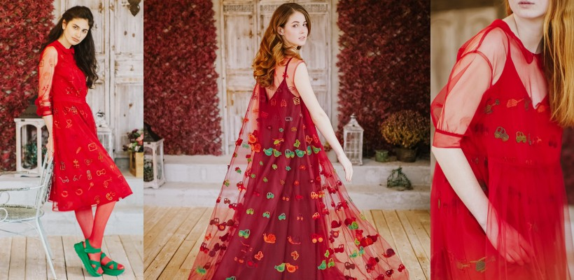 Nu sunt rochii Dolce & Gabbana. Sunt creații ale unei talentate studente de la Chișinău! (FOTO)