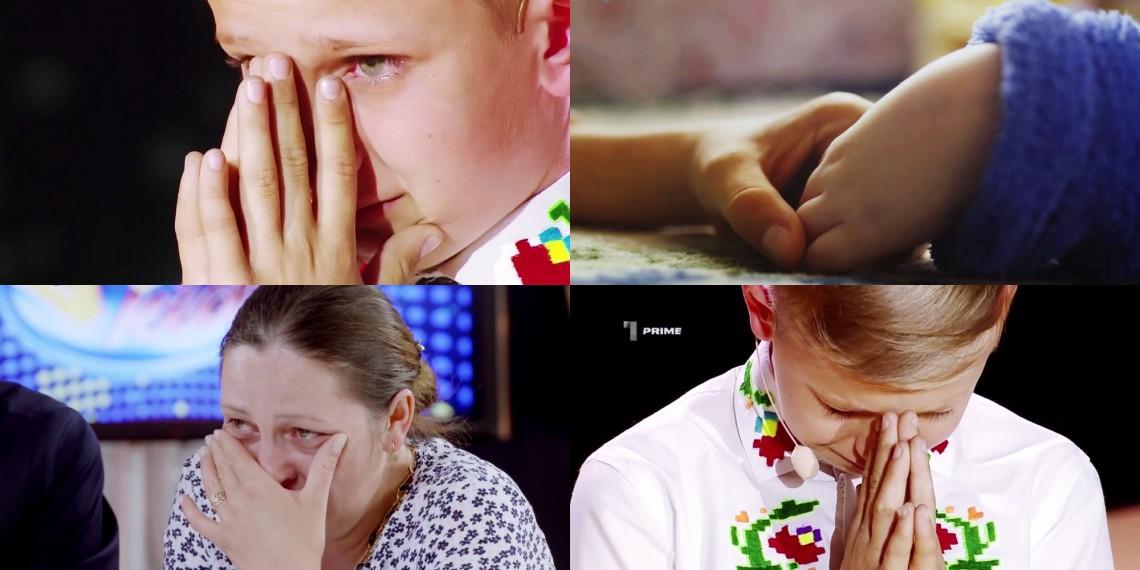 I-a făcut pe jurați să plângă de emoție! Cornel Gheorghiţă vrea să câștige la WOW KIDS pentru a-și susține familia