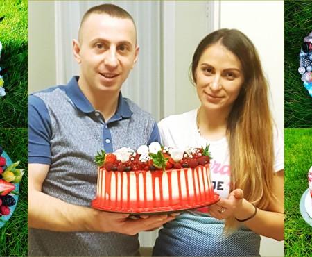 Și-a urmat dragostea, iar acum îndulcește britanicii cu torturi ademenitoare! Delicioasa poveste a Nătăliței Belocosov