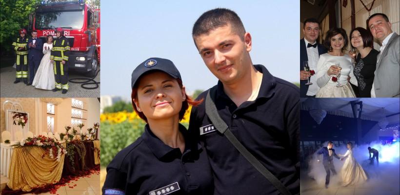 De ziua sa, ofițerul de presă Diana Țurcan a îmbrăcat rochia de mireasă! La nuntă au venit și pompierii (FOTO)