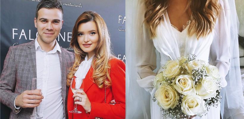 """""""Pregătită să fiu soția ta!"""" Cristina Gheiceanu a îmbrăcat rochia de mireasă! (FOTO)"""