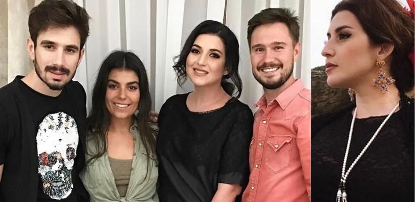 Pentru cel mai nou clip, Jasmin a îmbrăcat o rochie by Evgheni Hudorojcov și a făcut echipă cu Slava Sîrbu