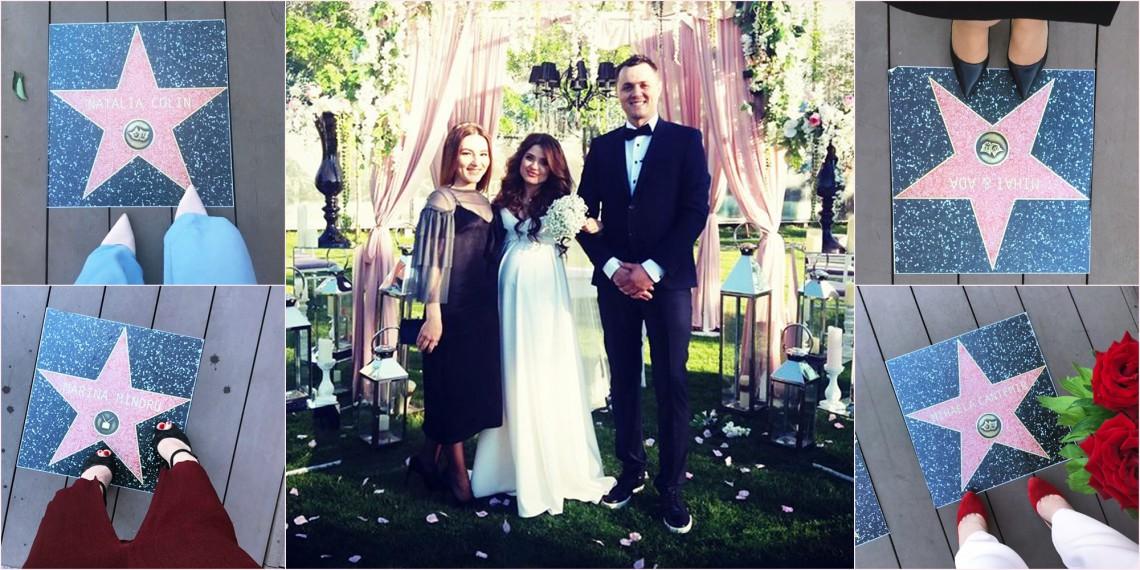 """Nuntă ca la Hollywood! Regizorul Octavian """"Kobzzon"""" Malai s-a căsătorit (FOTO)"""