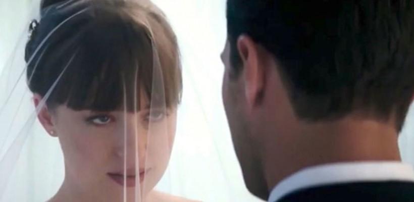 În trailerul Fifty Shades Freed, Anastasia și Christian se căsătoresc și pleacă în luna de miere (VIDEO)