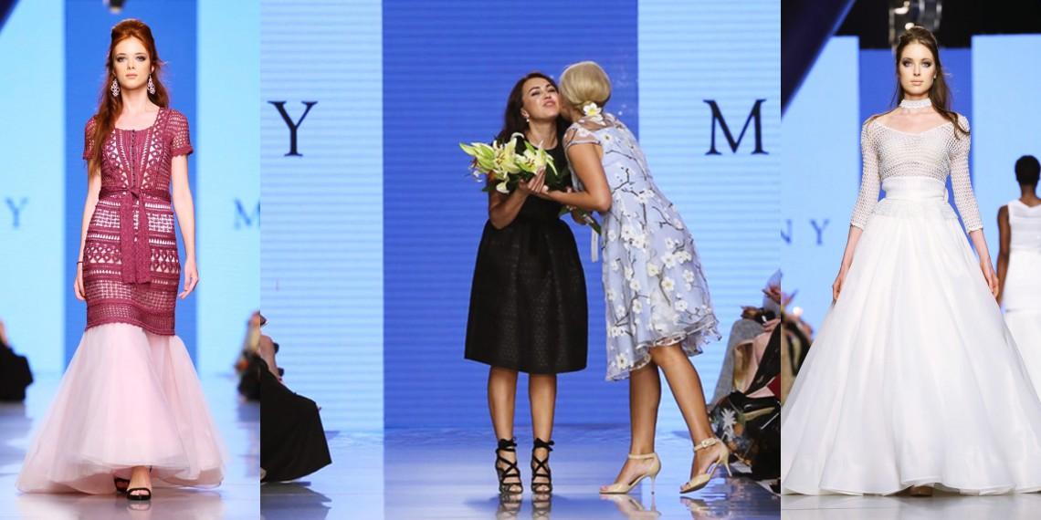 Creatoarea de modă Lilia Bezer și-a dus cea mai nouă colecție de rochii la Arab Fashion Week