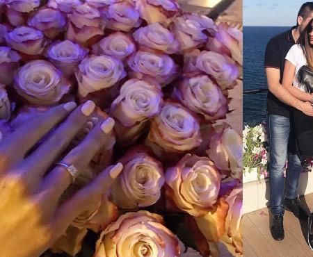 """Una dintre surorile Dodon a fost cerută în căsătorie: """"Am zis DA!"""" (FOTO)"""