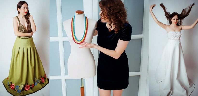 Visează să o îmbrace pe Delia! O tânără din Drochia a unit senzualitatea, vopseaua și broderia într-o colecție de haine