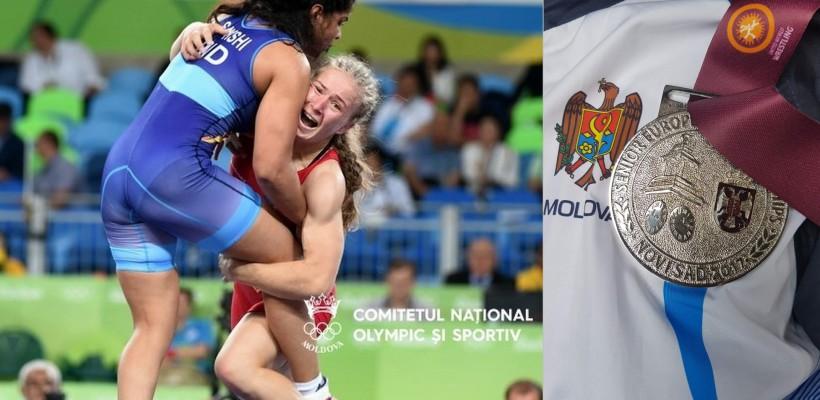 Luptătoarea Mariana Eșanu-Cherdivara s-a întors din Serbia cu cel mai înalt rezultat din carieră