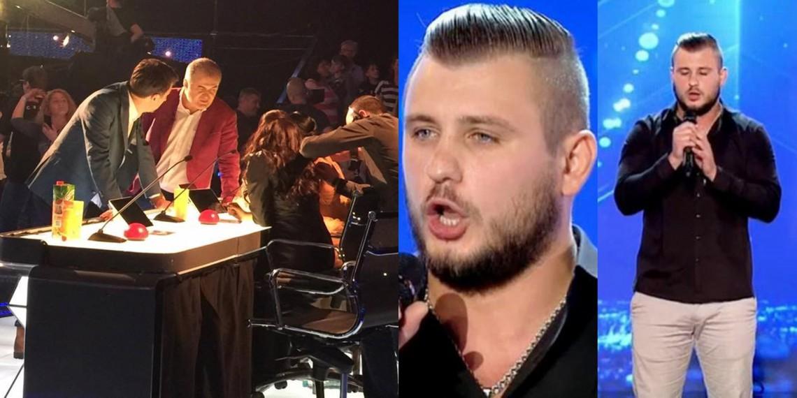 Se pregătea de semifinală, ca să afle că a fost exclus de la Românii au Talent. Maxim Prepelița dă cărțile pe față