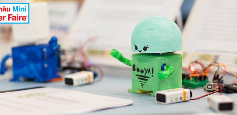 Vino la Mini Maker Faire – primul festival tehnologic organizat la Chișinău
