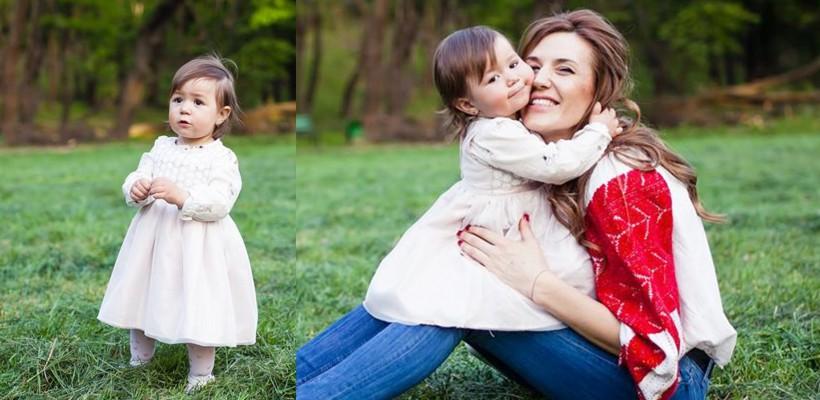 Un tânăr fotograf din Capitală a surprins-o pe fetița Tatianei Heghea. Cât de mare s-a făcut (FOTO)