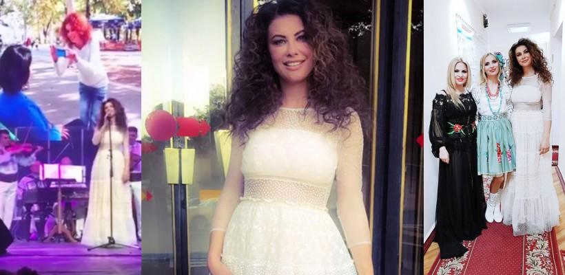 """Natalia Barbu a cântat """"Flori de Liliac"""" în memoria mamei! Spectacolul de ieri a cucerit multe inimi"""
