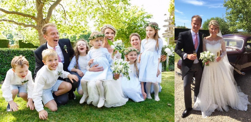 Stilista Ducesei de Cambridge s-a măritat cu fotograful Familiei Regale Britanice (FOTO)
