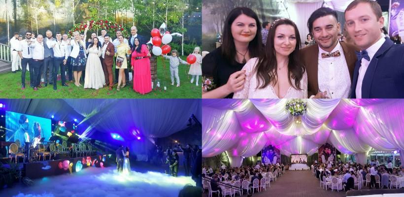 Valentin Uzun s-a recăsătorit! Imagini de la nunta jucată ieri în Capitală (FOTO)