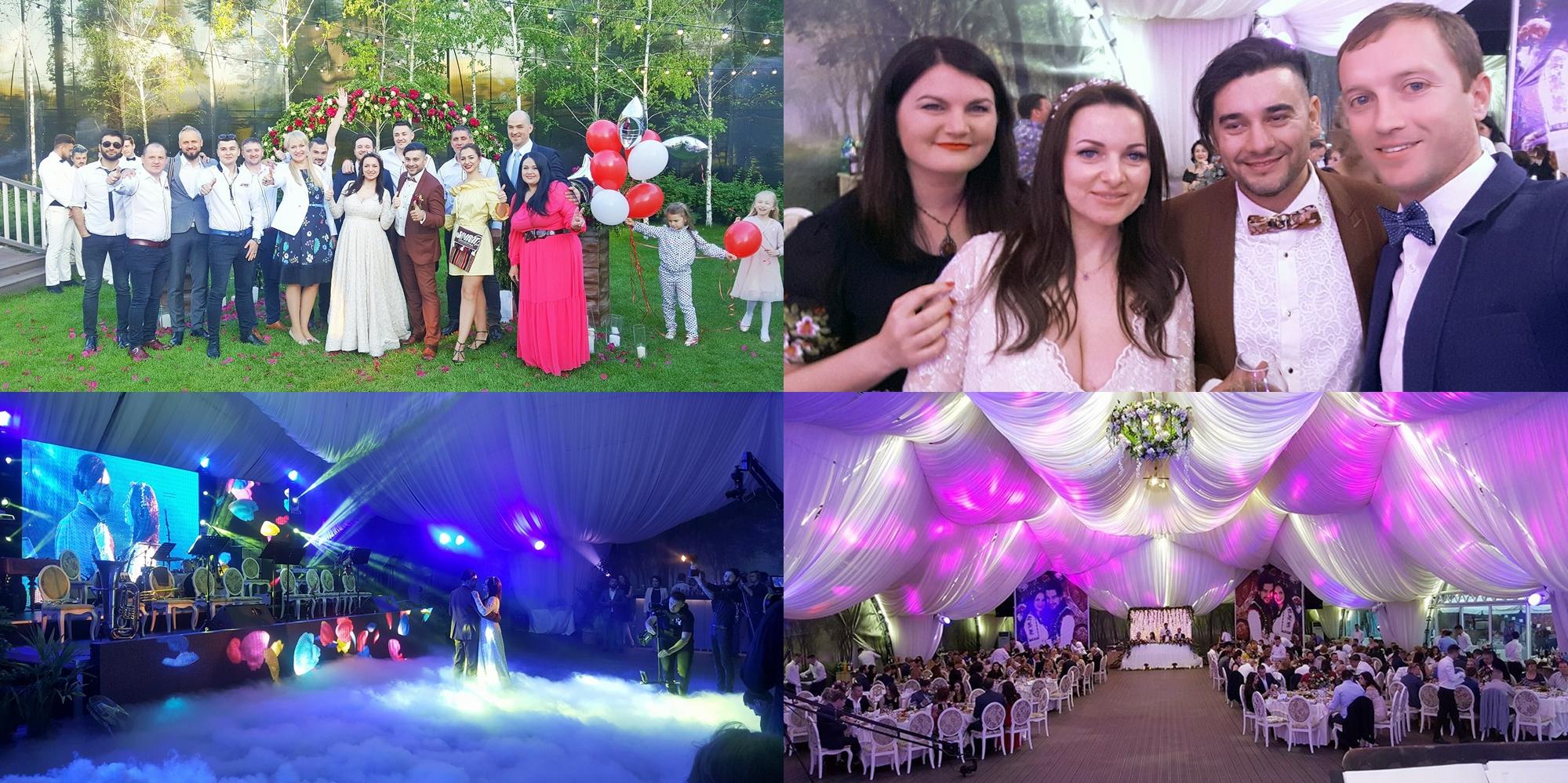 Valentin Uzun S A Recăsătorit Imagini De La Nunta Jucată Ieri în