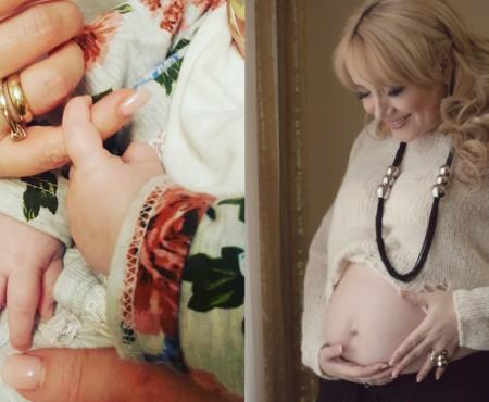 Adriana Ochișanu a făcut publice mai multe imagini cu micuța Mihaela. Este leit tatăl său (Foto)