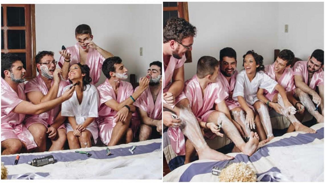 Vezi cum arată o petrecere a burlăcițelor atunci când mireasa nu are prietene. Află istoria petrecerilor pentru burlaci!