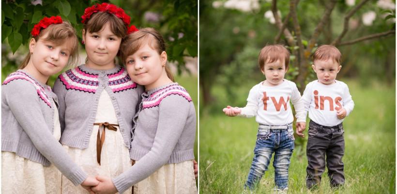 Ce se întâmplă când 30 de familii cu gemeni și tripleți se întâlnesc? Dacă Irina Spinei e în preajmă, atunci e magie!